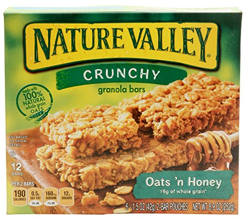 Nature Valley Oats 'n Honey Granola Bars 8.9 oz (Nature Valley Oats And Honey compare prices)
