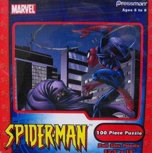 Marvel Spider-Man 100 Piece Puzzle Pressman