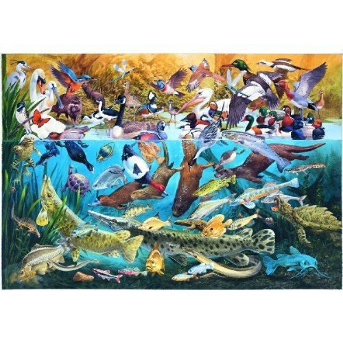 Cheap SunsOut Cool Waters 500pc Jigsaw Puzzle by James Hamilton Grovely (B0037FXFPC)