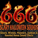 666 Scary Halloween Sounds: Ghosts, Witches, Monsters, Zombies & Haunted House Sound Effects