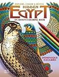 Hidden Egypt Adult Coloring Book: An...
