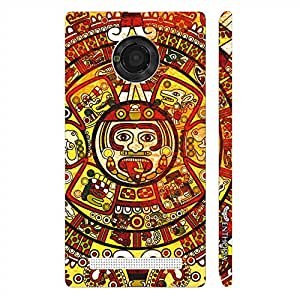 Micromax Yu Yuphoria Crazy Woodo designer mobile hard shell case by Enthopia