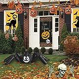 Deluxe Halloween Kürbis Spinne Garten Rasen Haus Dekoration-Pack