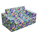 Newco Kids Flip Sofa, Happy Talk Blue