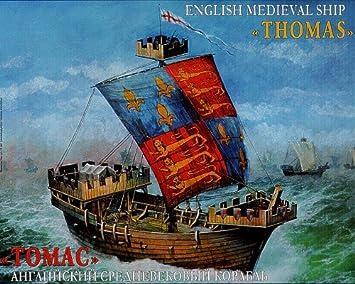 Zvezda - Z9038 - Maquette - Navire Médiéval Anglais Thomas - Echelle 1:72