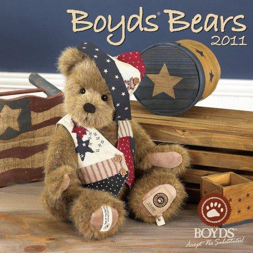 Boyds Bears Wall Calendar 2011 (Size 12