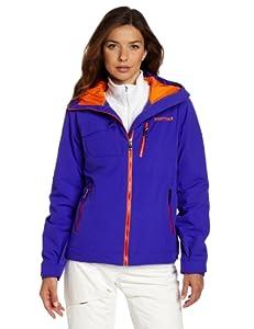 土拨鼠 Marmot 高端防水保暖冲锋衣Women's Free Skier Jacket 蓝$170.63
