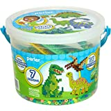 Perler Beads Fused Beads Perler Dinosaur Activity Bucket