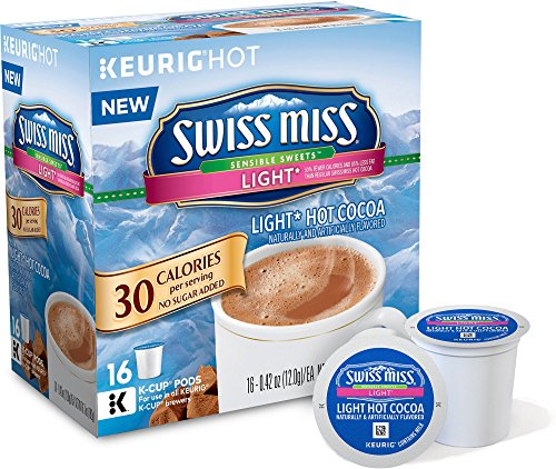 Swiss Miss Sensible Sweets Light Hot Cocoa K-Cups (16 Count) (K Cup Light Hot Chocolate compare prices)