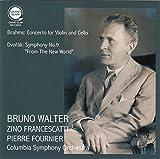ブラームス : ヴァイオリンとチェロのための二重協奏曲 | ドヴォルザーク : 交響曲 第9番 「新世界より」 (Brahms : Concerto for Violin and Cello | Dvorak : Symphony No.9 ''From The New World'' / Bruno Walter | Zino Francescatti | Pierre Fournier | Columbia Symphony Orchestra)