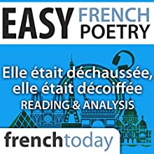 Elle était déchaussée, elle était décoiffée (Easy French Poetry): Reading & Analysis Audiobook by Victor Hugo Narrated by Camille Chevalier-Karfis