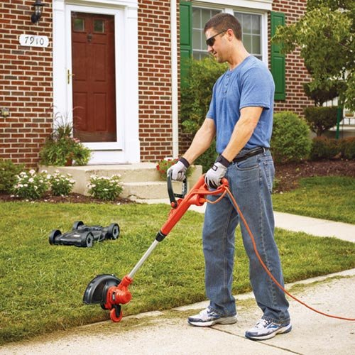 Black & Decker MTE912 12-Inch Electric 3-in-1 Trimmer/Edger and Mower, corded, 6.5-Amp image