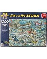 Diset - 617079 - Puzzle Classique - Comic 1000 - Au Fond De La Mer - 1000 Pièces