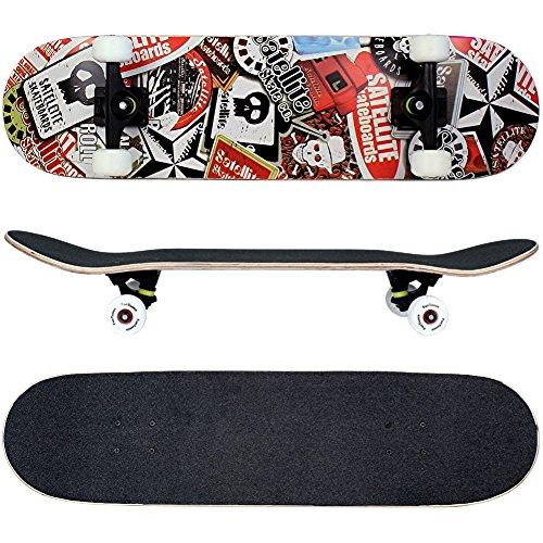 funtomiar-skateboard-31-inch-785cm-with-a-canadian-7-ply-maple-deck-mach1r-abec-11-high-speed-bearin