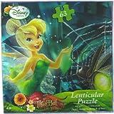 Disney Fairies Tinkerbell 63-Piece Lenticular 3D Jigsaw Puzzle - Forest Pond