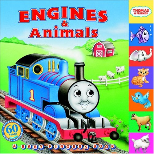 Thomas & Friends: Engines & Animals (Thomas and Friends) (Baby Fingers)