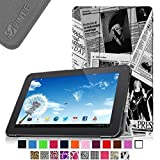 Fintie Slim Shell Case Cover for 10.1 Inch Android Tablet inclu. Dragon Touch A1x Plus / 2016 Edition / A1x / A1/ A1X Plus II, iRULU eXpro X1s 10.1, Alldaymall A10x 10.1, Valuepad VP112 10, Tagital T10 10.1, Prontotec Nepro 1