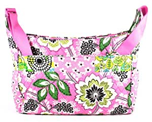 vera bradley crossbody baby bag in pink medley diaper tote bags baby. Black Bedroom Furniture Sets. Home Design Ideas