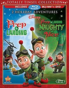 Prep & Landing / Prep & Landing: Naughty vs. Nice (Totally Tinsel Collection) [Blu-ray]