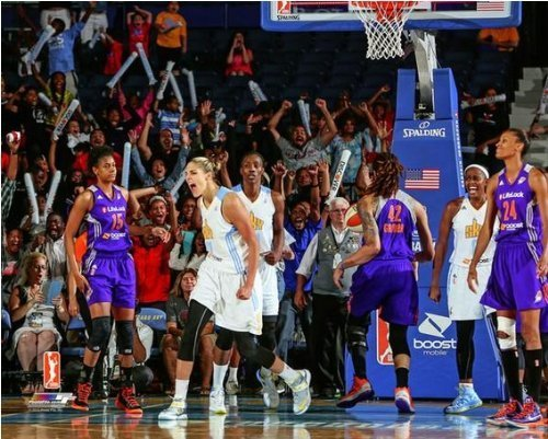 Elena Delle Donne Chicago Sky 2013 WNBA Action Photo 8x10 #4 by WNBA [並行輸入品]