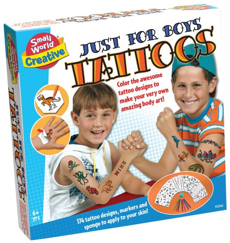 Small World Toys Creative - Just For Boys Tattoos front-908338