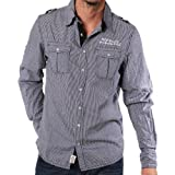 M.O.D Miracle of Denim Shirt for men MOD MS170 mini black checked