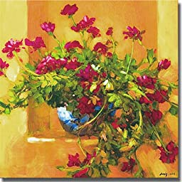 Ivy Geraniums by Philip Craig Premium Stretched Canvas (Ready to Hang)