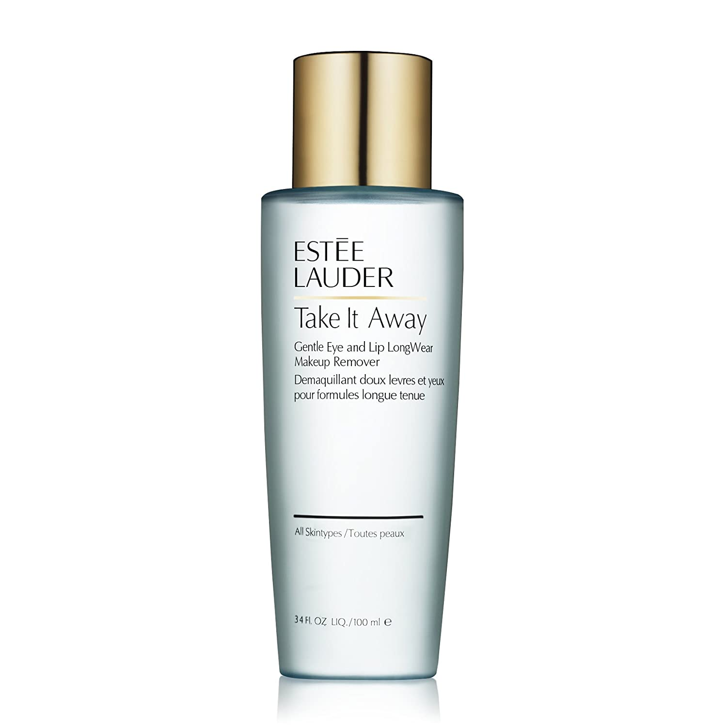 Estee Lauder Take It Away Gentle Eye and Lip Long-Wear Makeup Remover, 3.4 Ounce estee lauder spf15 15ml