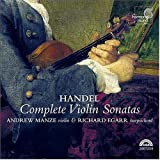 HANDEL. Violin Sonatas. Manze/Egarr (CD+Catalog)