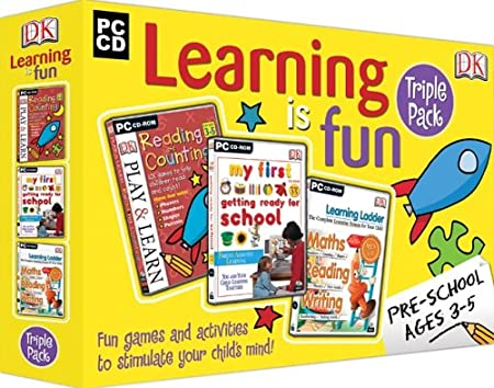 DK Learning is Fun - Pre-School Pack 2005