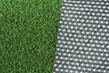 Premium artificial lawn grass WIMBLEDON - 6mm Pile high - (12,50£/m²) - 2,00m x 11,50m