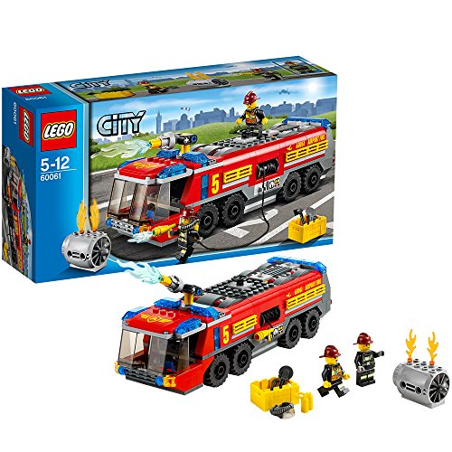LEGO City Great Vehicles 60061 - Autopompa da Aeroporto
