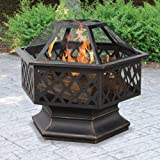 UniFlame-Hex-Shaped-Lattice-Fire-Pit