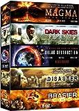 Coffret 5 DVD Catastrophe : Magma + Dark Skies + Solar Destruction + Disaster + Brasier