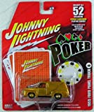 6133tHu5QcL. SL160  Johnny Lightning   Poker   Series II   #6 1955 Ford Panel Truck   Incl. 3 Poker Cards + Poker Chip   Die Cast 1:64