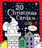 Candice Whatmore 20 Christmas Cards to Colour (Colouring Cards)