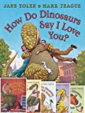 img - for Set of 6 How Do Dinos Books By Jane Yolen & Mark Teague Includes How Do Dinosaurs Go to School?, Say I Love You?, Say Goodnight?, Get Well Soon?, Eat Their Food? And How Do Dinosaurs Say Merry Christmas? book / textbook / text book