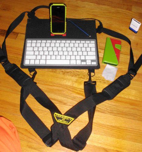 Amazon Com Connect A Desk Mobile Laptop Harness Amp Desk