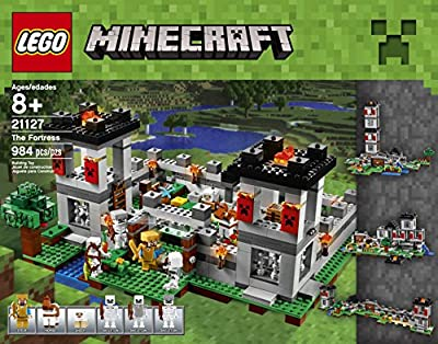 LEGO Minecraft 21127 The Fortress Building Kit (984 Piece) by LEGO