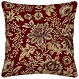 Arden Companies Strathwood Spun Polyester Pillow, 18 by 18-Inch, Melinda Coral, Set of 2 at Sears.com