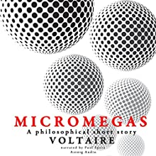 Micromegas: A philosophical short story Audiobook by  Voltaire Narrated by Paul Spera