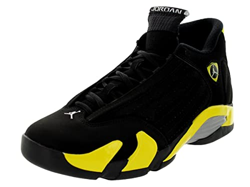 Nike Jordan Retro Mens Sneakers Dp B00l8d8zd2 Retro 14 Black And Yellow