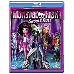 Monster High Ghouls Rule [Blu-ray]