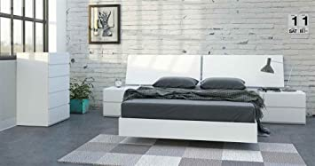 5-Pc Eco-friendly Bedroom Set in White Finish