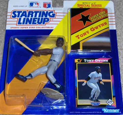 1992 TONY GWYNN SAN DIEGO PADRES KENNER STARTING LINEUP FIGURE