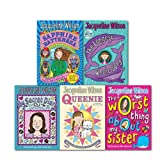 Jacqueline Wilson Jacqueline Wilson Collection 5 Books Set, (My Secret Diary, The Worst thing about my sister, Queenie, The Longest Whale Song and Sapphire Battersea)
