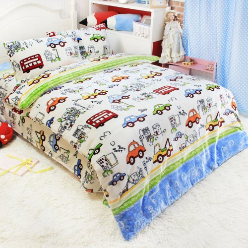 Boys Bedding Cars front-147031