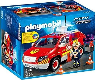 PLAYMOBIL® 5364 Brandmeisterfahrzeug mit Licht und Sound Konstruktion