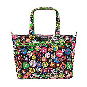 Ju-Ju-Be Super Be Tote Bag - Tokidoki Bubble Trouble - Black/Green from Ju-Ju-Be