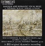 Baroque and Romantic Vocal Music (Fagius, Parsons, Von Bahr)
